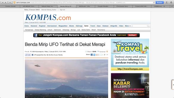 Kompas UFO
