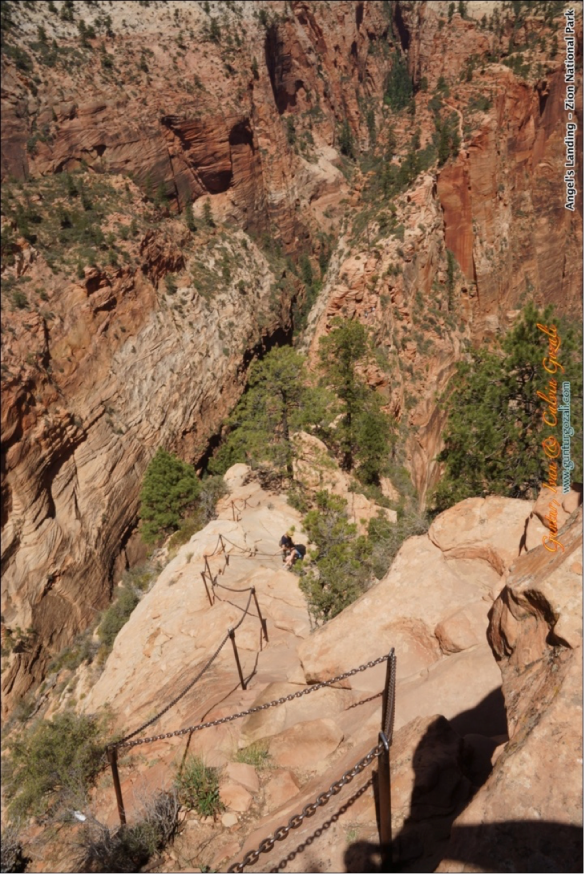 Angels Landing - Going Down 1