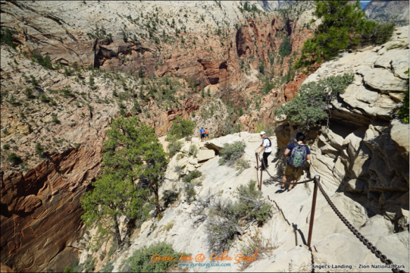 Angels Landing - Going Down 11