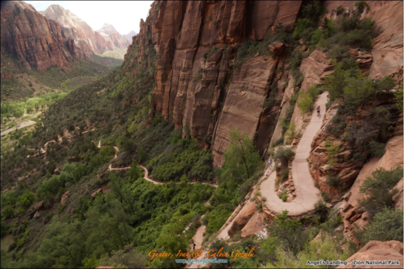 Angels Landing - Going Down 14