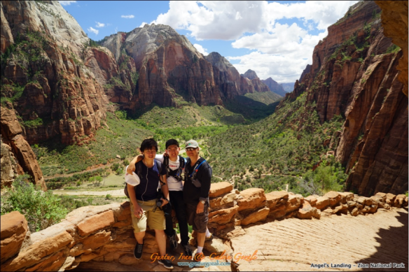 Angels Landing - Going Down 16