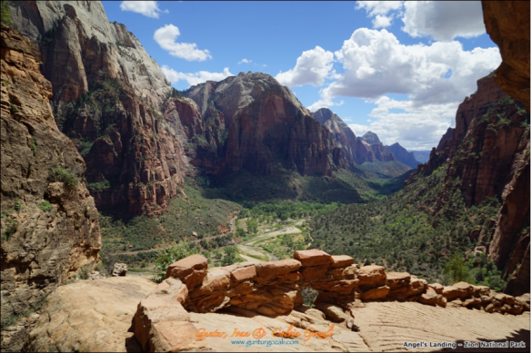 Angels Landing - Going Down 17