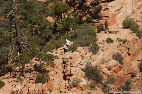 Angels Landing - Going Down 3