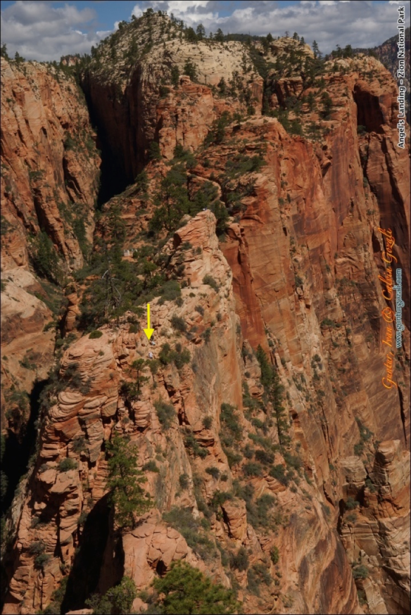 Angels Landing - Going Down 4