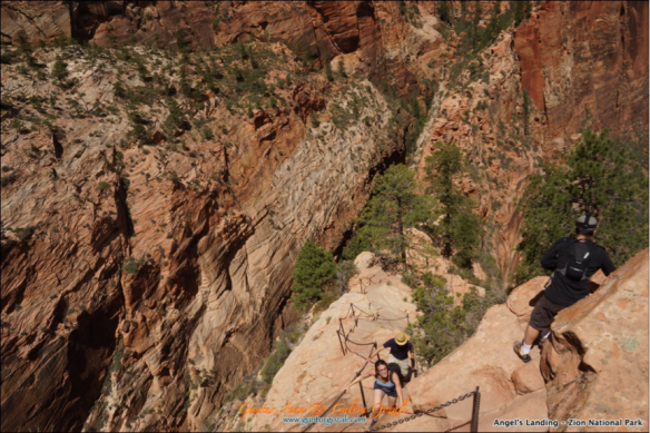 Angels Landing - Going Down 7