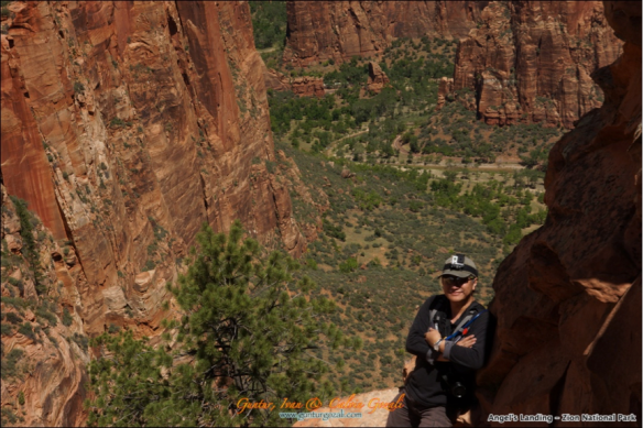 Angels Landing - Going Down 8