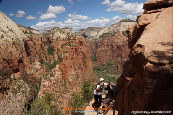 Angels Landing - Going Down 9