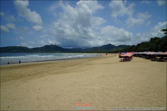 Pantai Pulau Merah 9