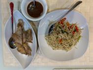 Ayam Goreng + Taoge Gr